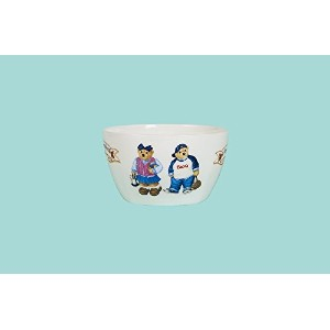 Teddy Bear Cereal Bowl – ピンクとブルー
