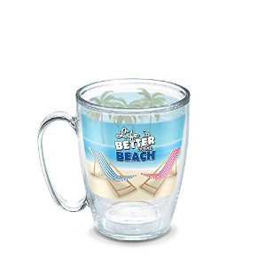 Tervis Life Is Better on the beachマグ
