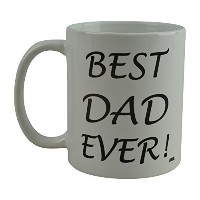 Rogue River面白いコーヒーマグBest Dad EverノベルティCup Great Gift Idea ForメンズDad父夫