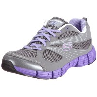 [スケッチャーズ] SKECHERS Stride 11635 CCPR (Charcoal Synthetic/ Mesh/ Purple Trim/23.5)