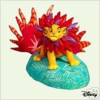 2005 Mighty Simba The Lion King DisneyホールマークOrnament