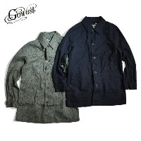 GOWEST(ゴーウエスト / go west)BUFFALLOW SPRING COAT Sulfide Dyed / Rain Drop Camo【送料無料】 / アウター / コート