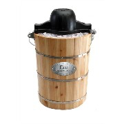 マキシマテック MaxiMatic Elite Gourmet Old Fashioned Pine Bucket Electric Manual Ice Cream Maker アイスクリームメーカ...