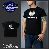 """Buzz Rickson's(バズリクソンズ) ヴィンテージ スラブ 半袖 Tシャツ """"8th A.F. BOMB-BOOGIE"""" BR76564"""