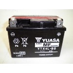YUASA / YTX4L-BS (STX4L-BS YT4L-BS GTX4L-BS FTX4L-BS KT4L-BS互換) バイク用バッテリー 密閉型 4L-BS