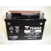 YUASA / YTX4L-BS (STX4L-BS YT4L-BS GTX4L-BS FTX4L-BS KT4L-BS互換) バイク用バッテリー 密閉型MF 4L-BS