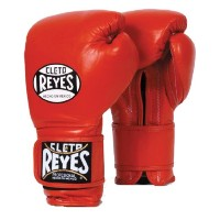 Cleto Reyes クレト・レイエス(レイジェス) ボクシング グローブ Hook & Loop Training Gloves - Velcro レッド