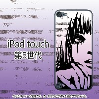 Girl(パープル)-iPodtouch5ケース