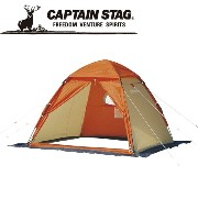 ☆CAPTAIN STAG キャプテンスタッグ ワカサギ釣りワンタッチテント210(コンパクト)OR M3131