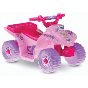 Power Wheels Barbie Lil' Quad 電動車 バービー 【並行輸入品】 Fisher-Price