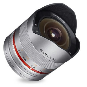 [SAMYANG]8mm F2.8 UMC Fish-eye II (ソニーE用)シルバ−