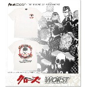 CROWS×WORST 5th 武装コレクションTEE Ver.2 (SS:TEE)(CR-067WH)