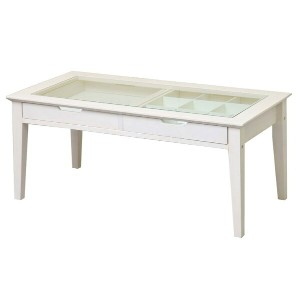 ine reno collection table INT-2576WH(ホワイト) W 900×D 450×H 400mm 【市場】【送料無料】