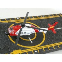 Hot Wings Coast Guard Helicopterホット ウイングス ダイキャスト
