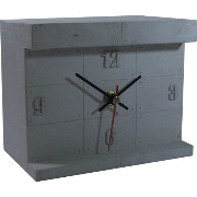 HOUSE USE PRODUCTS(ハウスユーズプロダクツ) 置時計 LIGHT-UP DESK CLOCK Norman GRAY HFT159 [正規代理店品]