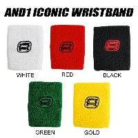 AND1 AND1 ICONIC WRISTBAND AND1 ホワイト