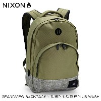 【販売期間 8/19 10:00~8/28 9:59】 ニクソン NIXON 正規販売店 バッグ Grandview Backpack Surplus / Surplus Wash OLIVE...