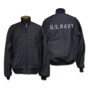 【BUZZ RICKSON'S バズリクソンズ】ジャケット/BR11328 DECK ZIP JACKET NAVY DEPARTMENT ★送料・代引き手数料無料!REAL DEAL