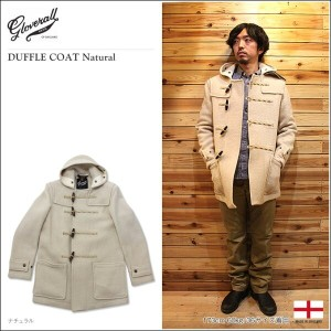 【GLOVERALL/グローバーオール】DUFFLE COAT Natural ダッフルコート