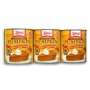 Libbys 100% Pure パンプキン ペースト缶詰3缶(3 x 822g) Libby's 100% Pure Pumpkin 3PK(29-oz cans x 3)〔ハワイより発送〕