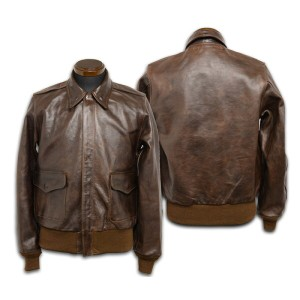 【BUZZ RICKSON'S バズリクソンズ】レザージャケット/BR80373 Type A-2 Hand aniline garment dyed /After production ★送料...