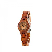 テンス 時計 レディース 腕時計 木製 Tense Wood Round Ladies Rosewood Bracelet Watch L7509R