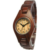 テンス 時計 レディース 腕時計 木製 Tense Wood Watch Round Ladies Sandalwood Bracelet L7509S