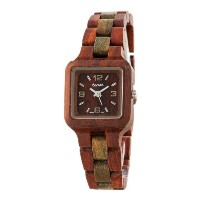テンス 時計 腕時計 木製 Tense Sandalwood Green Wood Summit Small Wrist Watch L7305SG DF
