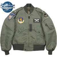 "BUZZ RICKSON'S/バズリクソンズ Jacket, Flying, light Type L-2B""TOPS APPAREL MFG .CO.,INC. 1957 Model""132nd Tactical Fighter Wing132TFW L-2B フ..."