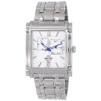 オリエント 時計 メンズ 腕時計 Orient Men's CETAC002W Multi-Eyes White Automatic Watch