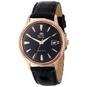 オリエント 時計 メンズ 腕時計 Orient Men's FER24001B0 Bambino Analog Japanese-Automatic Black Watch