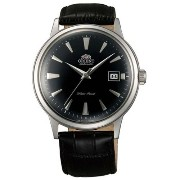 オリエント 時計 メンズ 腕時計 Orient ER24004B Men's Bambino Automatic Black Dial Black Leather Strap Mechanical...