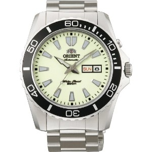 オリエント 時計 メンズ 腕時計 Orient #EM75005R Men's Stainless Steel Luminous Dial Mako XL 200M Automatic Diver...