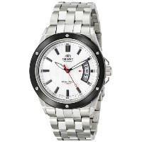 オリエント 時計 メンズ 腕時計 Orient Men's FER28004W0 Advancer Analog Display Japanese Automatic Silver Watch
