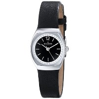 スカーゲン 腕時計 レディース 時計 Skagen Women's SKW2237 Asta Quartz 3 Hand Stainless Steel Black Watch