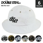 DOUBLE STEAL ダブルスティール METRO HAT ハット 帽子 キャップ【05P03Sep16】【RCP】