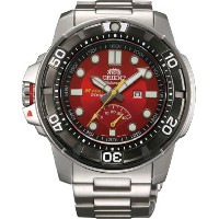 オリエント 時計 メンズ 腕時計 Orient #SEL06001H Men's Stainless Steel M-Force Beast Diver Power Reserve...