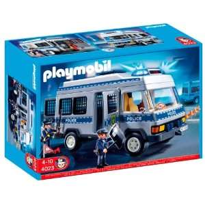 プレイモービル 4023 護送車 Playmobil Police Transport Vehicle