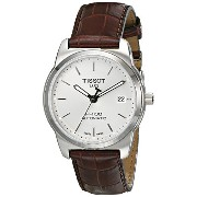 ティソ 腕時計 メンズ 時計 Tissot Men's T0494071603100 PR 100 Silver Automatic Dial Watch