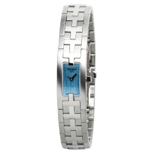 ティソ 腕時計 レディース 時計 Tissot Women's T50118540 T-Trend Blue Bracelet Watch