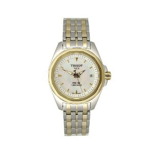 ティソ 腕時計 レディース 時計 Tissot PRC 100 Mother of Pearl Ladies Watch T0080102211100