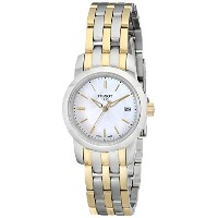 "ティソ 腕時計 レディース 時計 Tissot Women's T0332102211100 ""Classic Dream"" Analog Display Two-Tone Watch"