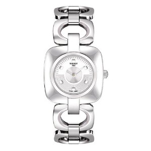 ティソ 腕時計 レディース 時計 Tissot Women's T020.109.11.031.00 Odaci T Stainless Steel Women's Watch