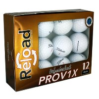 PG Professional Golf Reload Refurbished Pro V1x Golf Balls【ゴルフ ボール】
