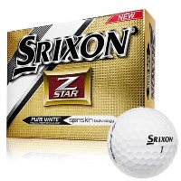Srixon Z Star Pure White Golf Balls【ゴルフ ボール】