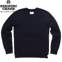 「Clearance Sale!」 REIGNING CHAMP MID WEIGHT TWILL TERRY LS CREWNECK SWEAT RC-3207 NAVYレイニングチャンプ ミッド...