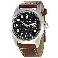 ハミルトン カーキ メンズ 腕時計 Hamilton Men's H70555533 Khaki Field Black Dial Watch
