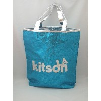 KITSON キットソン トートバッグ 【GRITTER NS TOTE】ブルー