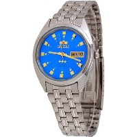 オリエント 時計 スリースター メンズ 腕時計 Orient #FEM0401NL Men's Tri Star Blue Dial Standard Self Winding Automatic...