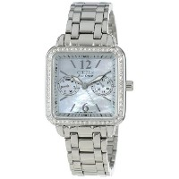 "Citizen シチズン レディース腕時計 Women's FD1040-52D Eco-Drive ""Silhouette"" Stainless Steel Swarovski Crystal..."